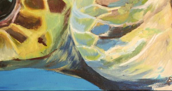 Grüne Meeresschildkröte I